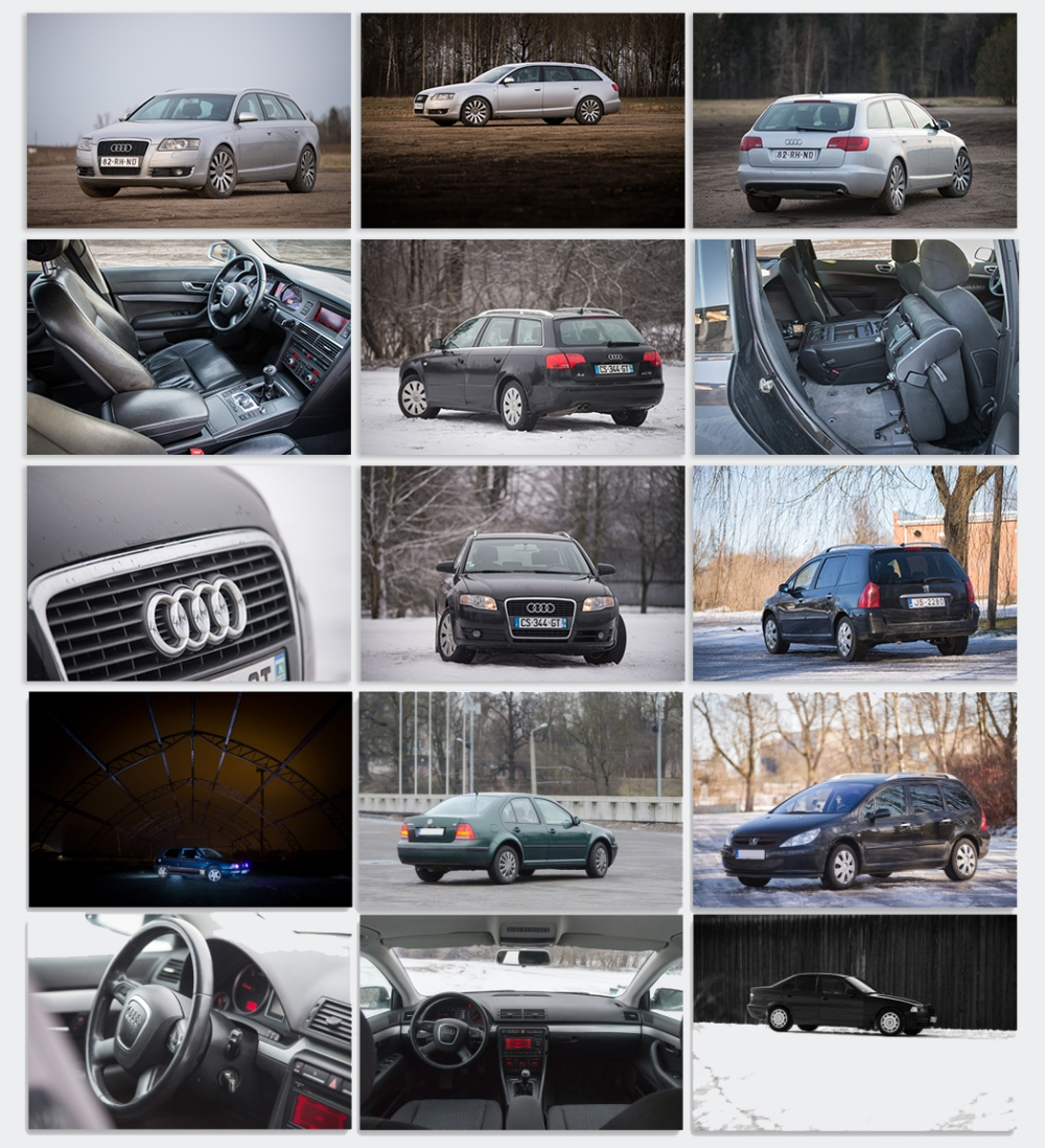 automašīnu fotogrāfēšana