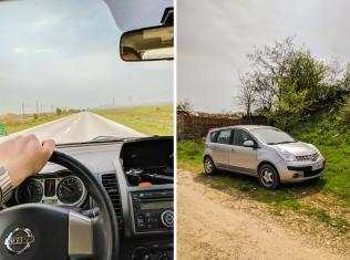 Speedrentcar autonomā dabūtais auto pirmajā acu uzmetienā visai aizdomīgs. Viens no priekšējiem lukturiem nedeg, stāvošai automašīnai izpūtējs grab pamatīgi un degviela tai ļoti garšo, bet vēlāk saprotam, ka šī ir tīri pieklājīga un pārējā valsts autoparka fona.