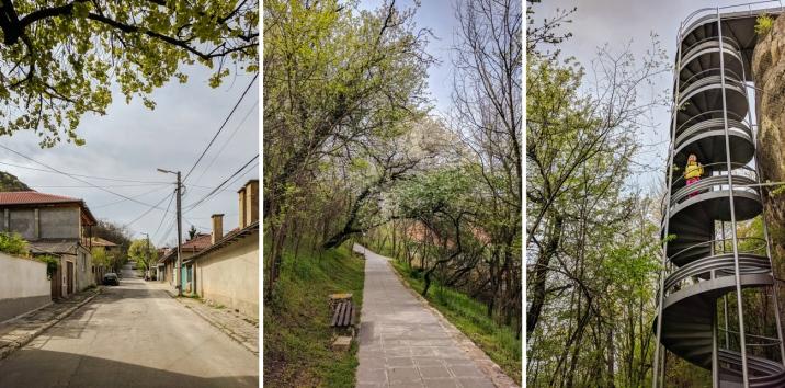 Par vienīgo apskates vērto objektu Provadijā atzinām cietoksni Крепост Овеч / Fortress Ovech. Šeit pa ceļam uz to.